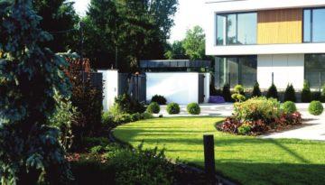 02. Elegancki ogród w Wilanowie