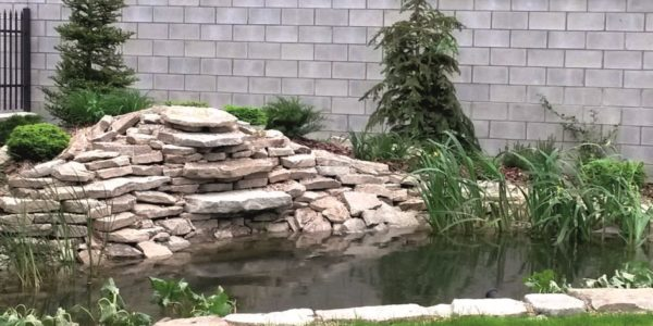 08. Ogród naturalny z oczkiem wodnym w Babicach